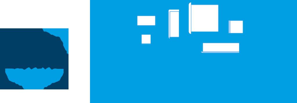 Logo Kunstleihe Harburg und Symbolbild Wohnzimmer